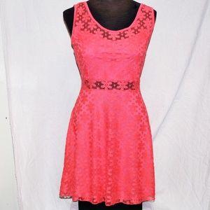 Mini Tank Lace Dress